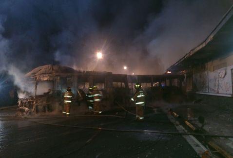 metrobus quemado