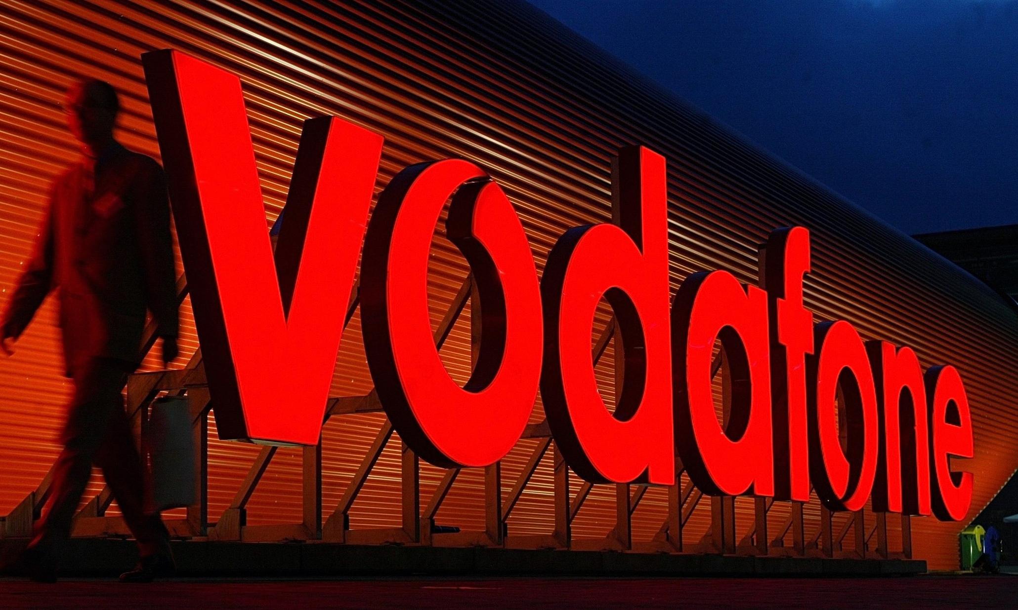 Vodafone slide