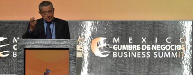 cumbre de negocios slide