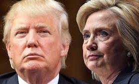 Clinton Trump slide