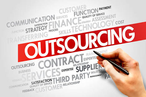 outsourcing slide