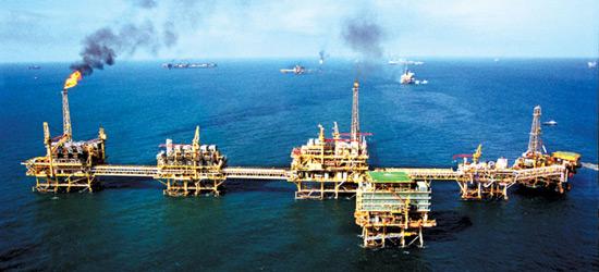 plataforma petroleos slide